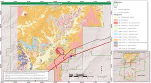 Colorado National Forest Map by Petrified Forest Maps Npmaps Com Just Free Maps Period