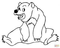 free sun bear coloring page animal new sun bears coloring