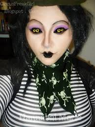 hannabal marie miss spider makeup look