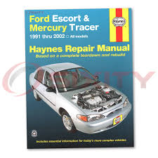 ford escort haynes repair manual lx sport gt zx2 s r coupe lx
