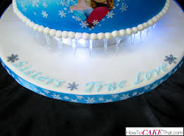 frozen anna and elsa cake how to cake that