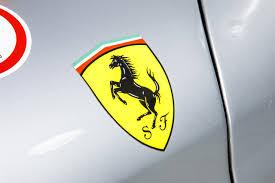 ferrari emblem a ferrari built for nothing but racing wsj