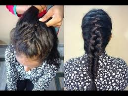 african fish style bolla hairstyle with braids fish tail hair style hindi youtube
