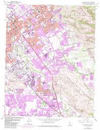 Cupertino Map San Jose East Topographic Map Ca Usgs Topo Quad 37121c7