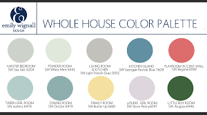 simple color palettes for home interior cool home design top on