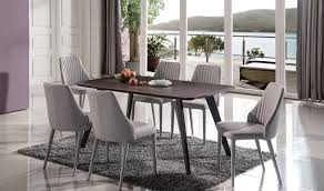 Modern Counter Height Dining Tables by Baur Modern Dining Set In Walnut U0026 Grey Free Shipping Get