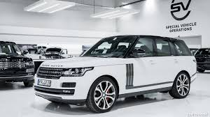 white land rover black rims 2017 range rover sv autobigraphy dynamic color fuji white