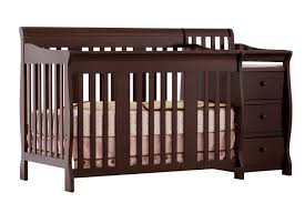 Storkcraft Sheffield Ii Fixed Side Convertible Crib Espresso by Baby Crib Parts Cribs Decoration