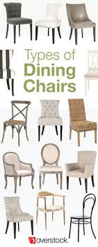 types of dining room chairs types of dining chairs