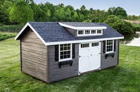 Sheds The Heritage Prefab Garden Shed Woodtex