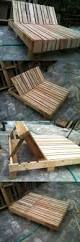 Patio Furniture Out Of Wood Pallets by Best 25 Pallet Deck Furniture Ideas On Pinterest Sectional