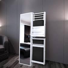 chambre avec miroir armoire à bijoux blanche de chambre avec miroir et 2 tiroirs achat