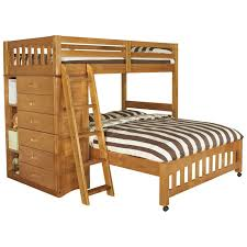 Viv Rae Kaitlyn LShaped Twin Over Full Bunk Bed  Reviews Wayfair - L bunk bed