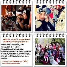 Wardah Okt moslemaa open registration for class and style with
