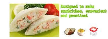 Bread Shaped Toaster Aliexpress Com Buy Mold Diy Pocket Sandwich Molds Heart Shaped
