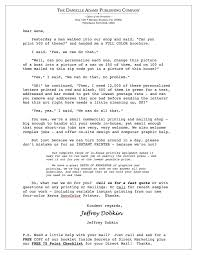 direct mail letter sample 3 jeffrey dobkin