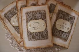 burlap wedding programs printable of unique diy rustic burlap wedding invitation set with