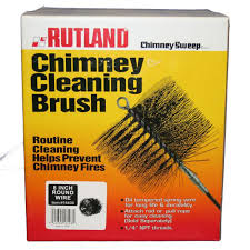rutland 8 in chimney sweep round wire chimney cleaning brush