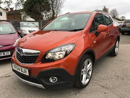vauxhall orange second hand vauxhall mokka tech line cdti s s for sale in