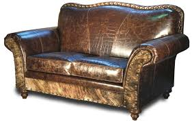 Distress Leather Chair Albuquerque Turquoise Leather Sofa Western Sofas And Loveseats