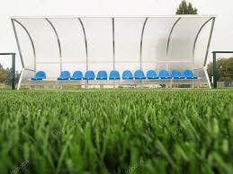 Stadium Bench New Blue Plastic Seats On Outdoor Stadium Players Bench Chairs