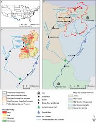 Red River New Mexico Map by Reale Et Al 2015 The Effects Of Catastrophic Wildfire On Water