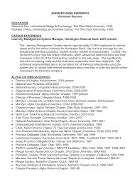 Sample Resume Objectives For Criminal Justice by Resume Volunteer Resume Samples