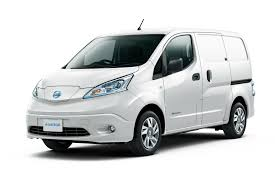 nissan work truck nissan tests e nv200 electric commercial vehicle in portland