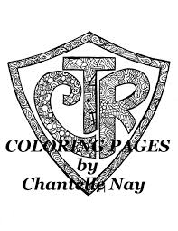 ctr coloring page coloring page ctr lds art coloring picture