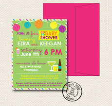 how to create couples baby shower invitations designs