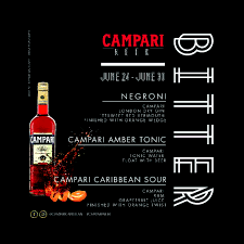 campari campari week where bitter sweet never tasted so good saint lucia