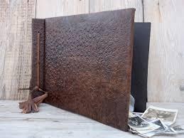 embossed leather photo album vintage luxury leather photo album big album embossed leather