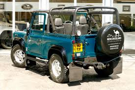 land rover jeep defender for sale land rover defender tdi sv 90 soft top