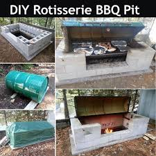 Fire Pit Rotisserie by Diy Rotisserie Bbq Pit Pictures Photos And Images For Facebook
