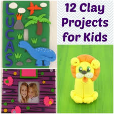 12 cute clay projects for kids favecrafts