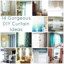 Expensive Curtain Rods 14 Gorgeous Diy Curtain Ideas Lovely Etc
