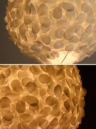 Flower Pendant Light White Paper Flower Pendant Light The 3 R S