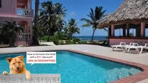 caribe island resort san pedro belize reviews youtube