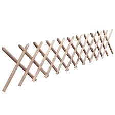 vidaxl co uk impregnated expandable wooden trellis fence 250 x 60 cm