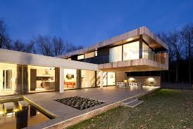 natural nice design of the modern villa midgard that can be decor