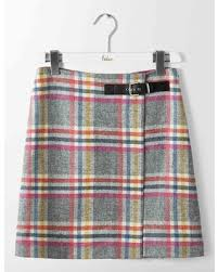 tweed skirt new shopping special tweed skirt multi check women boden