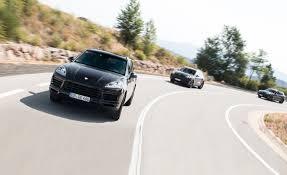 cayenne porsche reviews 2019 porsche cayenne prototype drive review car and driver