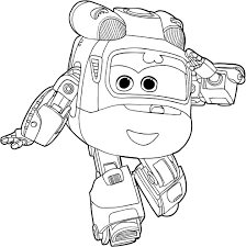 dizzy super wings coloring pages