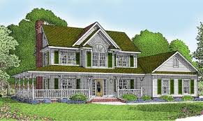19 decorative country house plans with wrap around porch house