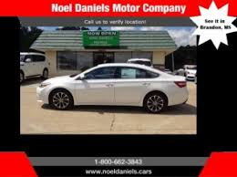 brandon toyota used cars used toyota avalon for sale in brandon ms 14 used avalon