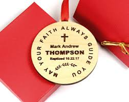 personalized baptism ornament baptism ornament etsy ca