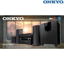 onkyo home theater ht s7800 5 1 2 ch dolby atmos home theater system l authorized dealer