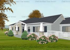 Ranch Floor Plans With Front Porch Two Front Porch Options Revisited Actual Cad Drawings From A Real