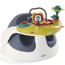 table eveil bebe avec siege siège évolutif baby snug et plateau d activité bleu navy