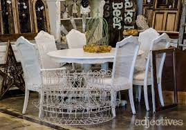 rustic white farm tables white shabby chic buffets and so much more